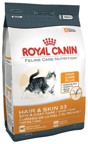 best dry cat food reviews royal canin dry cat food hair skin 33 formula 15 pound bag. Black Bedroom Furniture Sets. Home Design Ideas