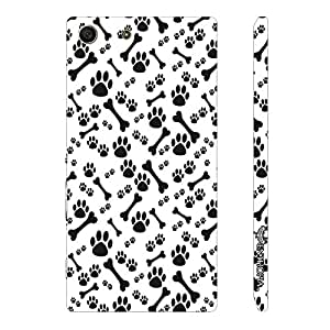 Sony Xperia M5 Dog N The Bone designer mobile hard shell case by Enthopia