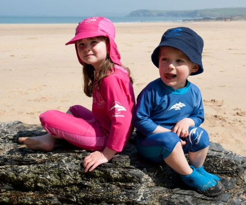 Konfidence Bucket Sun Hat - Royal Blue/Navy - Child (up to 10 yrs)