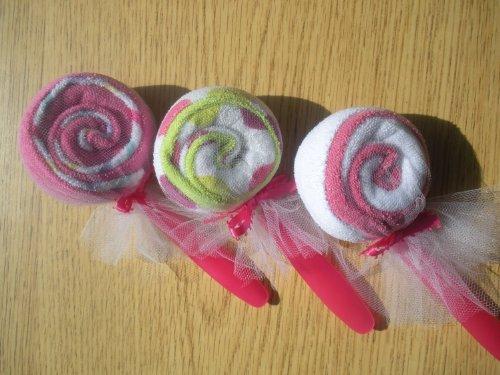 Baby Shower Favors Lollipops front-511731