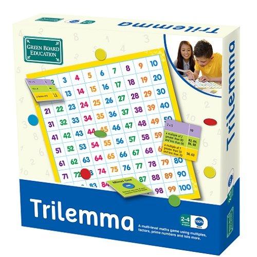 Imagen principal de Green Board Games Trilemma - Juego educativo de matemáticas (importado de Reino Unido)