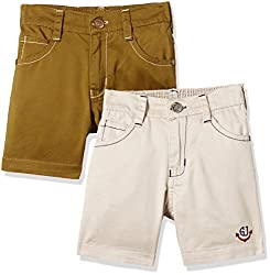 Seals Boys' Shorts (AM8106_Pack of 2_MULTI_8)