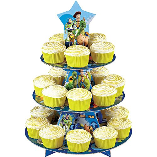 Wilton Mens Disney Toy Story Cupcake Stand Tan Medium - 1