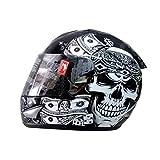 THH Pirate Full Face Helmet - Black