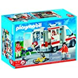 Playmobil - 4221 - Jeu de construction - Ambulanciers / bless� / v�hiculepar Playmobil