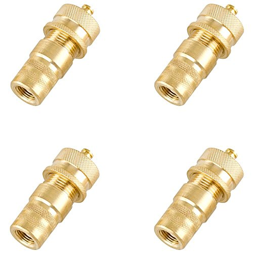 Air-Down Brass Tire Deflator 4-Pack 30 to 8 PSI (Auto Repair Ramps compare prices)