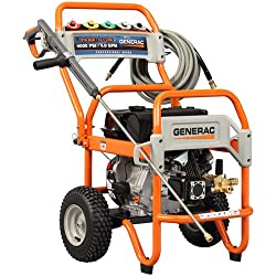 Generac 5997 4000 PSI 4.0 GPM 420cc OHV Gas Powered Commercial Pressure Washer