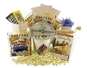 Whirley Pop Blockbuster Popcorn Popper Gift Set