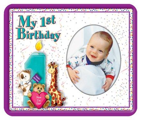 My 1st Birthday – Photo Magnet Frame – Childrens Frames