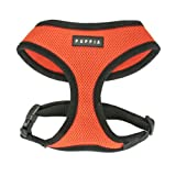 Image of Puppia Soft Dog Harness, Orange, Large