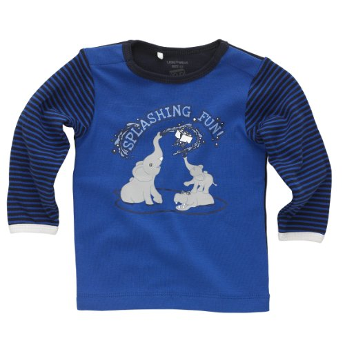 Unisex-Baby Sweatshirt 13956 TIM 703-T-SHIRT LS Gr. 56 Blau 560 STRONG BLUE