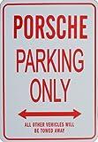 PORSCHE Parkplatz nur Zeichen