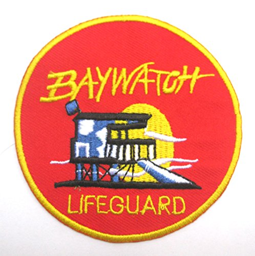 Baywatch Lifeguard TV Series Sew Ironed Patch