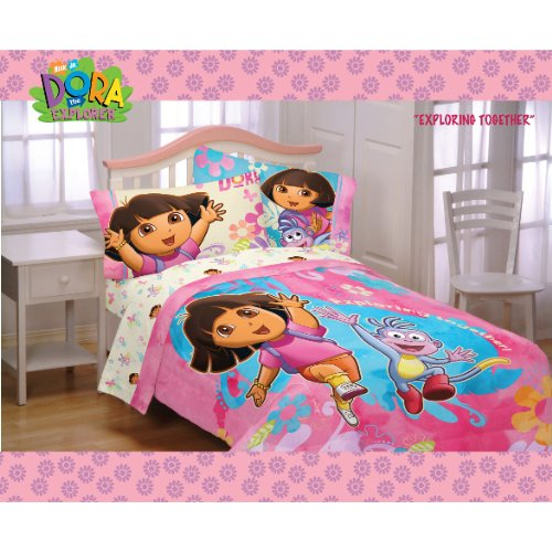 dora the explorer bedding totally kids totally bedrooms kids
