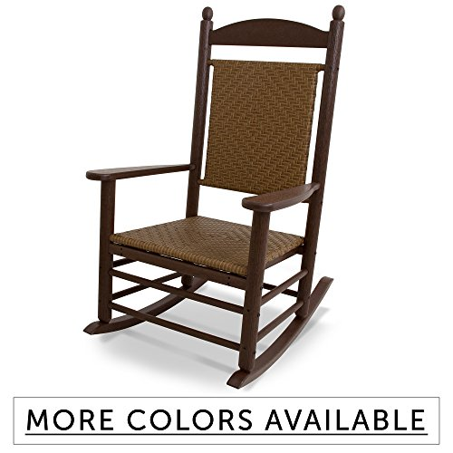 Polywood All Weather Woven Porch Rocker Rocking Chairs