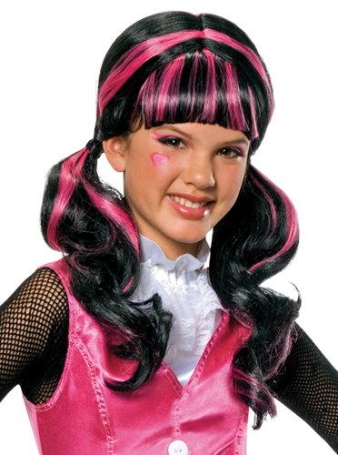 Monster High Draculaura Girls Wig