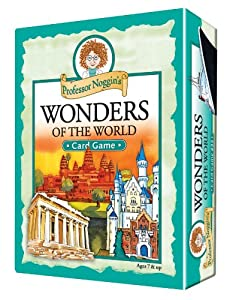 Educational Trivia Card Game - Professor Noggin's Wonders of the World
