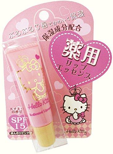 サンタン 薬用リップエッセンス ハローキティ SPF15 ハチミツの香り 8g