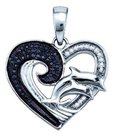 0.17CTW DIAMOND HEART PENDANT