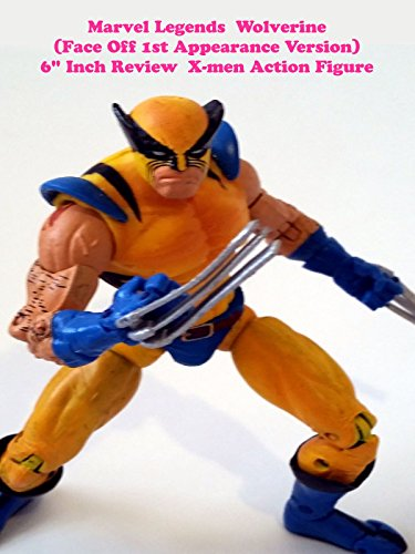 "Marvel Legends WOLVERINE ""Face Off"" 1st Appearance Review 6"" inch (Toy Biz) X-men action figure"
