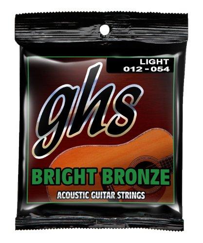 Ghs Strings Acoustic Guitar Set (Light, Bright Bronze)