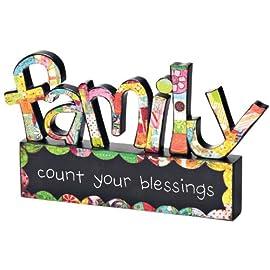 Colorful Devotions Word Art - Family Sculpture