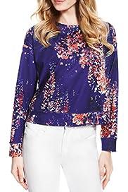 Floral Sweatshirt [T50-2835-S]