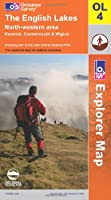 The English Lakes: North Western Area OL4 - Paper (OS Explorer Map Series) by Ordnance Survey