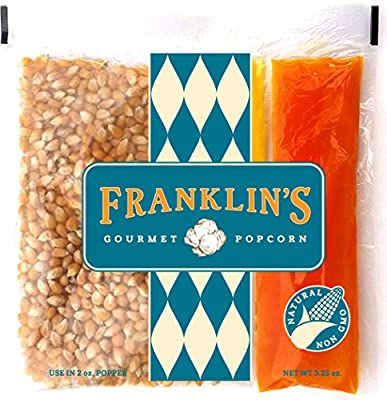 Franklin's Gourmet Popcorn Portion Packs