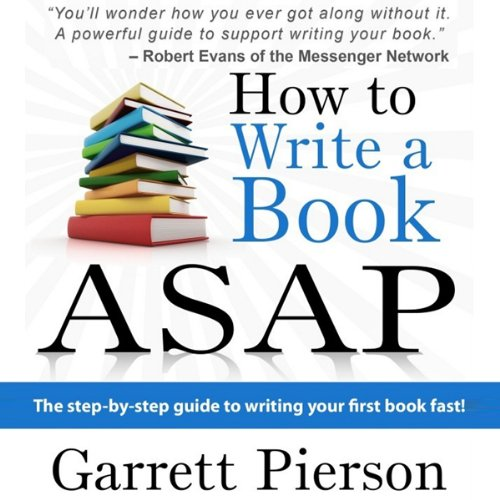 How to write a book fast: 5 simple rules