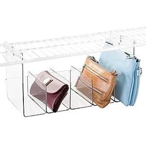 mdesign wire shelving under shelf storage. Black Bedroom Furniture Sets. Home Design Ideas