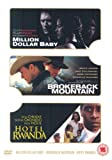 Million Dollar Baby/Brokeback Mountain/Hotel Rwanda [DVD]