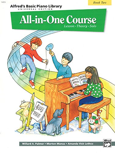 Alfred's Basic All-In-One Course, Bk 2: Universal Edition (Alfred's Basic Piano Library)