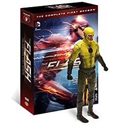 The Flash: The Complete First Season w/Figurine [Blu-ray]