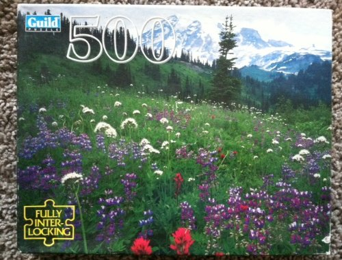 Guild 500 Piece Puzzle - Mt. Rainier National Park, Washington