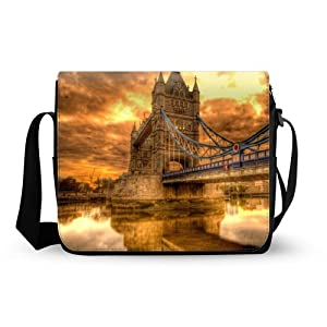 Bridge Of London England Shoulder Bag Oxford Fabric Messenger Bag