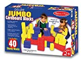 Melissa &amp; Doug Deluxe Jumbo Cardboard Blocks (40 pc)