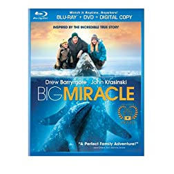 Big Miracle (BD Combo Disc + Digital Copy + UltraViolet) [Blu-ray]