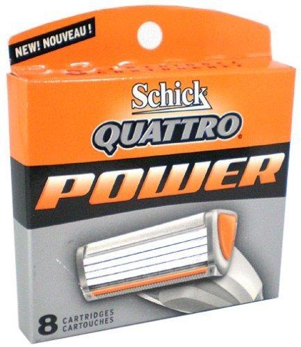 schick-quattro-power-cartouches-lot-de-8