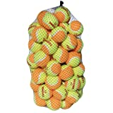 Tourna Low Compression Stage 2 Tennis Ball (Pack of 60) by Unique Sports