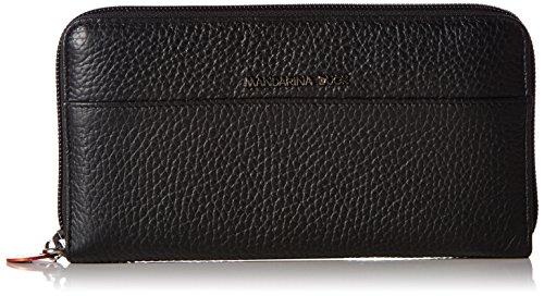 Mandarina Duck  152FZP51651 - Billetera Mujer, Negro, 2x10x19 cm (B x H x T)