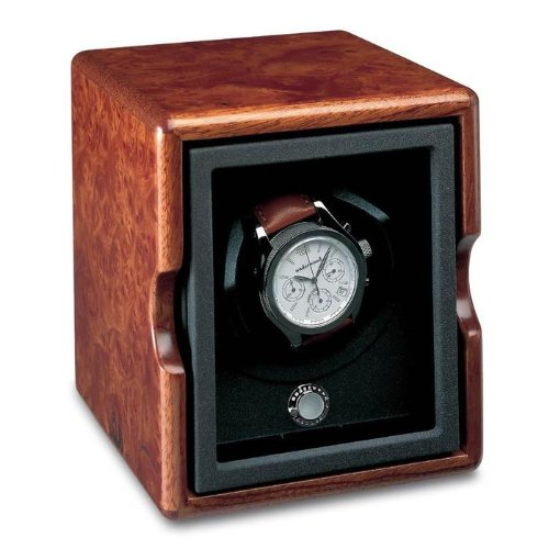 Single Briarwood Watch Winder - Rotobox by Underwood