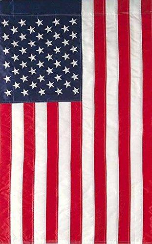 [Embroidered American Flag Garden Flag Stars & Stripes USA 12