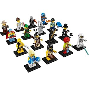 Lego 8683 Minifigures Series 1 Circus Clown 2