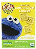 Earth's Best Organic Very Vanilla Letter of the Day Cookies, 5.3 Ounce Box (Pack of 6) Baby, NewBorn, Children, Kid, Infant
