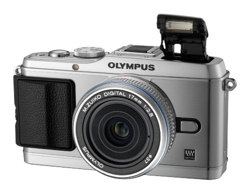 Olympus Pen E-P3 Compact System Camera - Silver (Includes M.ZUIKO 17mm Pancake Lens)