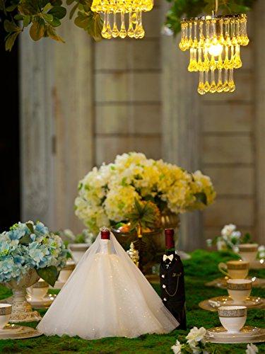 Wedding Gifts For Bride And Groom Amazon : Groom Wine Bottle Covers, Wine Decorations for Wedding,Wedding Gift ...