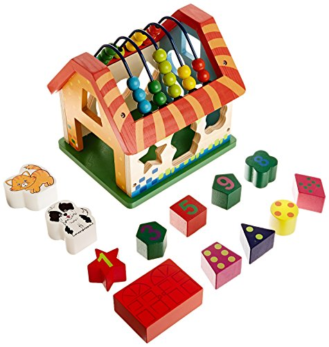 WISE OWL TOYS Learning House - 1