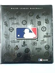 Turner Brand Sports 3-ring Binder: Major League Baseball Theme - all the team logo on back...