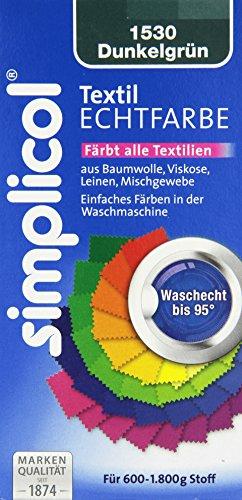 g stig online shoppen simplicol 1530 textil echtfarbe fl ssig dunkelgr n 150 ml. Black Bedroom Furniture Sets. Home Design Ideas